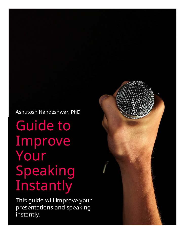 Guide to improve your presentations and speaking