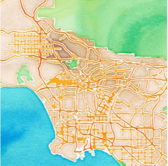map watercolor ggplot ggmap data science fundraising R