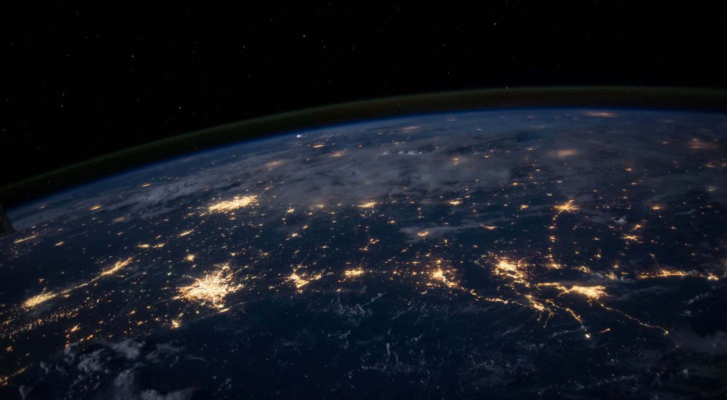 NASA Earth Lights Carbon Emissions