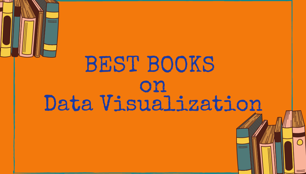 list of books on data visualization