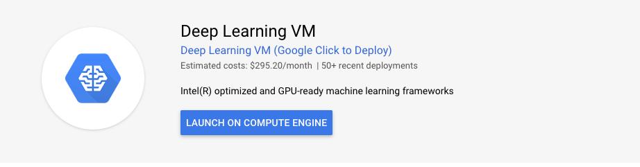 deep learning vm instance deployment google cloud